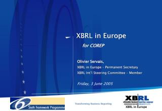 XBRL in Europe