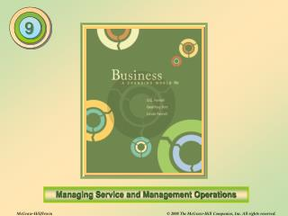 The Nature of Operations Management (OM)