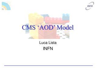 CMS 'AOD' Model