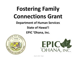 Fostering Family Connections Grant