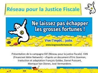 Réseau pour  la  Justice  Fiscale
