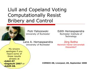 Llull and Copeland Voting Computationally Resist Bribery and Control