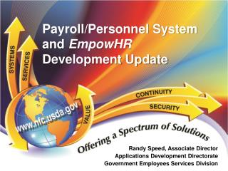 Payroll/Personnel System and  EmpowHR  Development Update