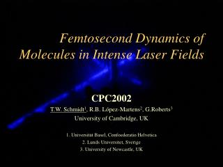 Femtosecond Dynamics of Molecules in Intense Laser Fields