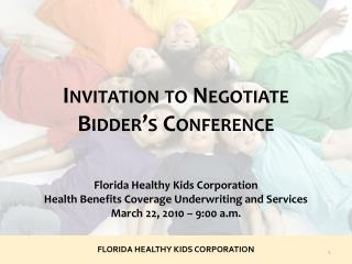 FLORIDA HEALTHY KIDS CORPORATION