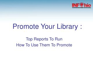 Promote Your Library :