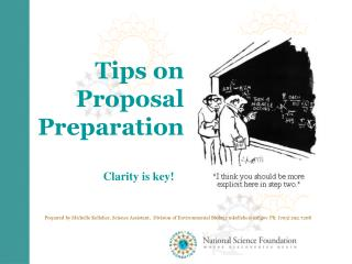 Tips on Proposal Preparation