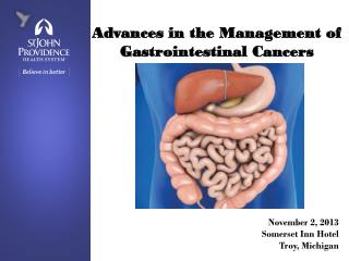 Advances in the Management of Gastrointestinal Cancers