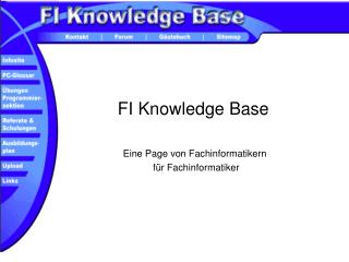 FI Knowledge Base