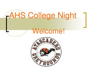 AHS College Night