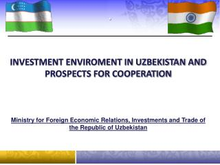 Ministry for Foreign Economic Relations, Investments and Trade of the Republic of Uzbekistan