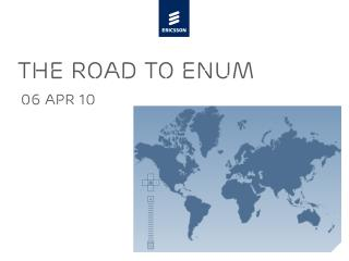 the ROAD To ENUM