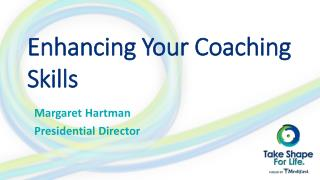 Enhancing Your Coaching Skills