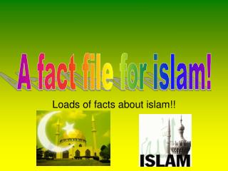 Loads of facts about islam!!