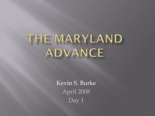 The Maryland Advance