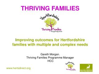 Thriving Families – Context