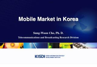 Mobile Market in Korea