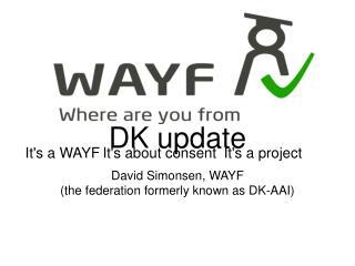 DK update