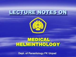 LECTURE NOTES ON