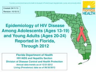 Florida Department of Health HIV/AIDS and Hepatitis Section