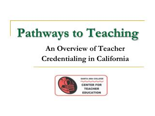 Pathways to Teaching