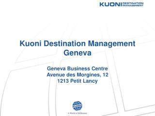 Kuoni Destination Management Geneva