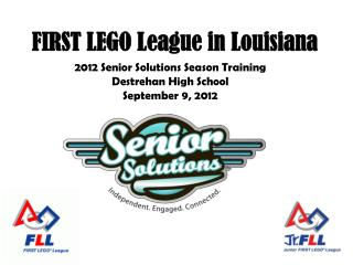 FIRST LEGO League in Louisiana