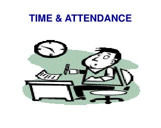 TIME & ATTENDANCE