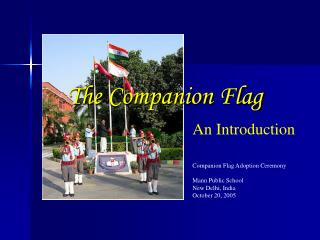 The Companion Flag