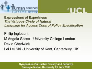 Expressions of Expertness The Virtuous Circle of Natural Language for Access Control Policy Specification