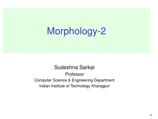 Morphology-2