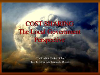 COST SHARING The Local Government Perspective