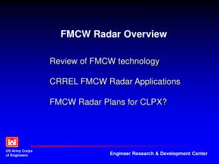 FMCW Radar Overview