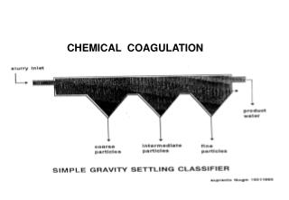 CHEMICAL  COAGULATION