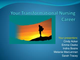 Your Transformational Nursing Career