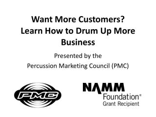 Want More Customers? Learn How to Drum Up More Business