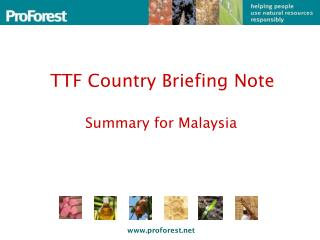 TTF Country Briefing Note