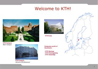 Welcome to KTH!