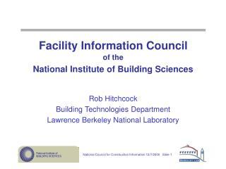 Facility Information Council