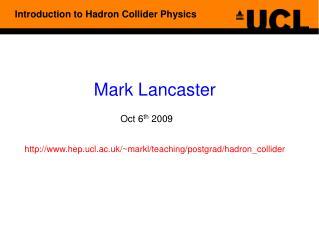 Mark Lancaster