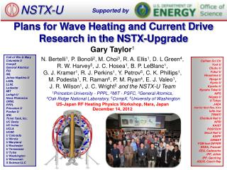 Plans for Wave Heating and Current Drive Research in the NSTX-Upgrade