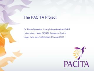 The PACITA P roject