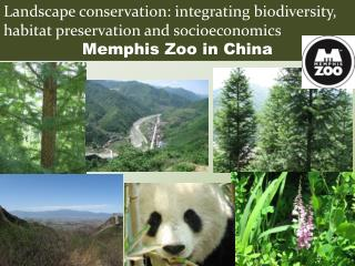 Landscape conservation: integrating biodiversity, habitat preservation and socioeconomics