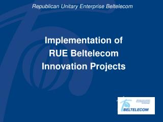 Republican Unitary Enterprise Beltelecom