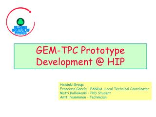 GEM-TPC Prototype Development @ HIP