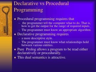 Declarative vs Procedural Programming