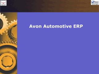 Avon Automotive ERP