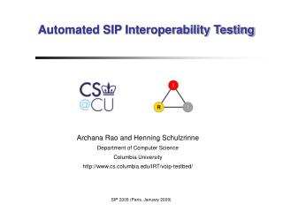 Automated SIP Interoperability Testing