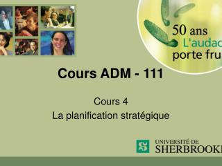 Cours ADM - 111