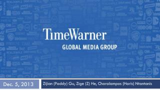 Time WARNER(NYSE:MOS) November 7, 2013